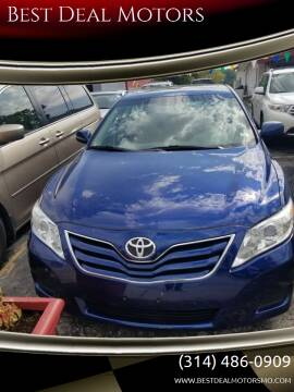 2010 Toyota Camry for sale at Best Deal Motors in Saint Charles MO