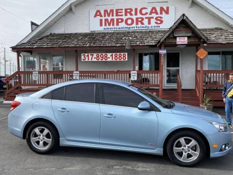 2012 Chevrolet Cruze for sale at American Imports INC in Indianapolis IN