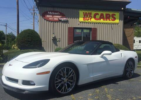 2008 Chevrolet Corvette for sale at Mehan's Auto Center in Mechanicville NY