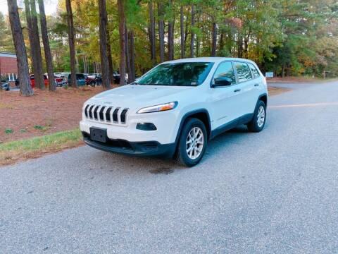 2017 Jeep Cherokee for sale at H&C Auto in Oilville VA