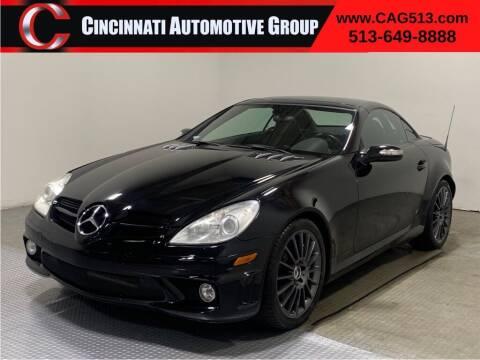 2005 Mercedes-Benz SLK for sale at Cincinnati Automotive Group in Lebanon OH
