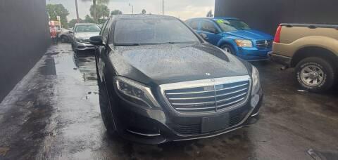 2014 Mercedes-Benz S-Class for sale at Empire Car Sales in Miami FL