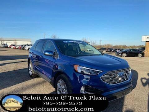 2020 Ford Edge for sale at BELOIT AUTO & TRUCK PLAZA INC in Beloit KS