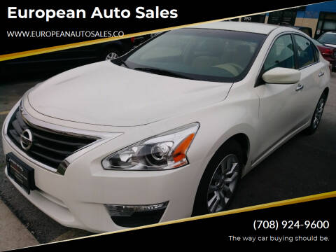 2013 Nissan Altima for sale at European Auto Sales in Bridgeview IL