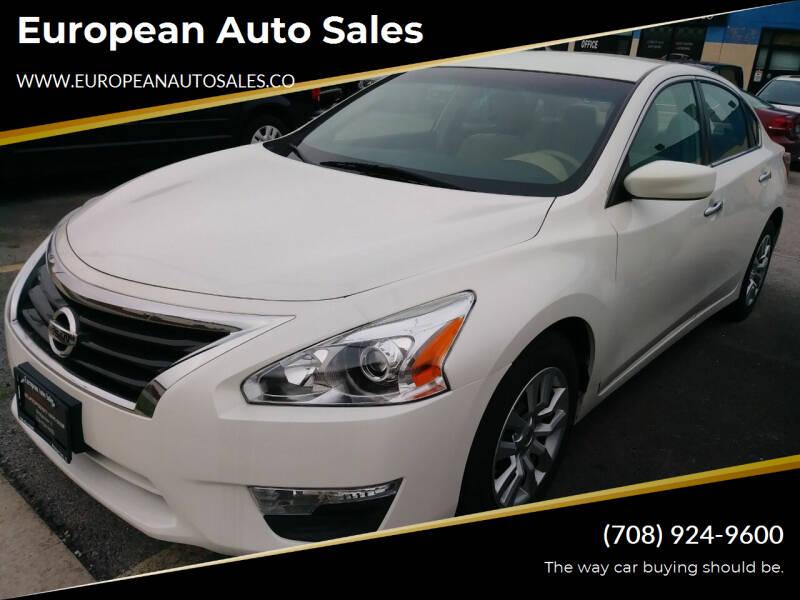 2013 Nissan Altima for sale at European Auto Sales in Bridgeview IL