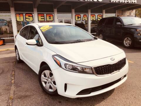 2017 Kia Forte for sale at Daniel Auto Sales inc in Clinton Township MI