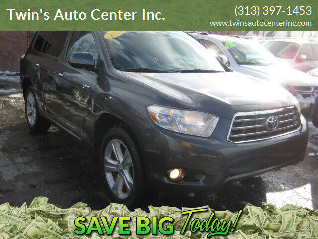 2010 Toyota Highlander for sale at Twin's Auto Center Inc. in Detroit MI