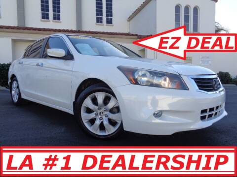 2010 Honda Accord for sale at ALL STAR TRUCKS INC in Los Angeles CA