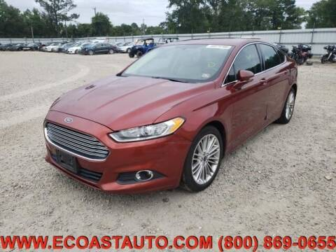 2014 Ford Fusion for sale at East Coast Auto Source Inc. in Bedford VA