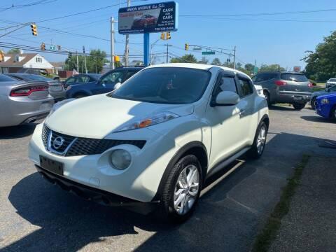 2012 Nissan JUKE for sale at Union Avenue Auto Sales in Hazlet NJ
