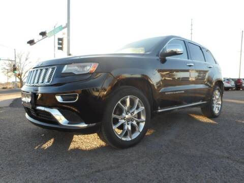 2014 Jeep Grand Cherokee for sale at AUGE'S SALES AND SERVICE in Belen NM