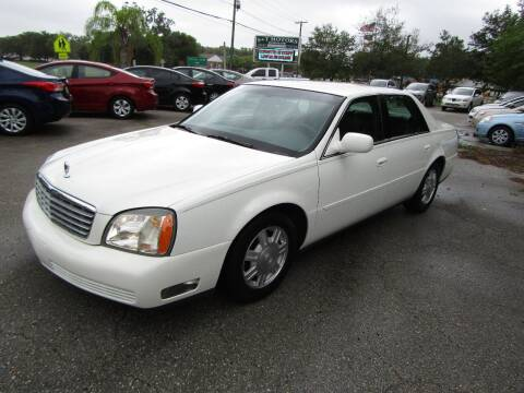 2005 Cadillac DeVille for sale at S & T Motors in Hernando FL