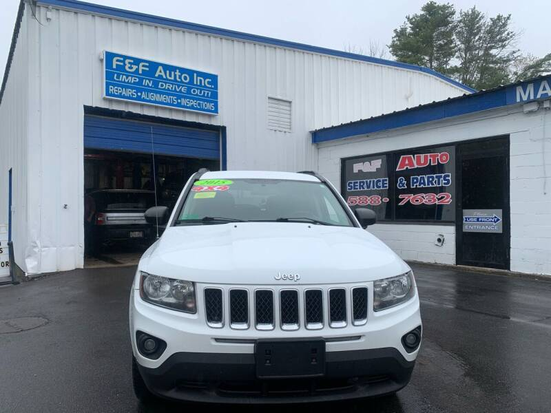 2015 Jeep Compass for sale at F&F Auto Inc. in West Bridgewater MA