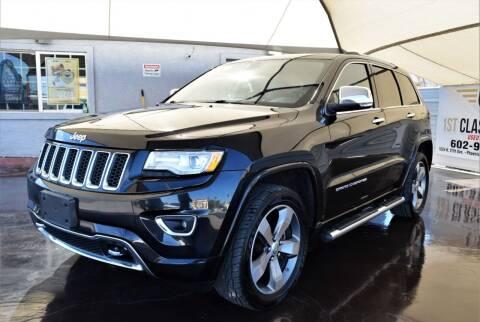 2015 Jeep Grand Cherokee for sale at 1st Class Motors in Phoenix AZ