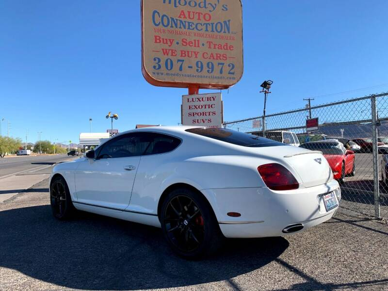 2007 Bentley Continental for sale at Moody's Auto Connection LLC in Henderson NV