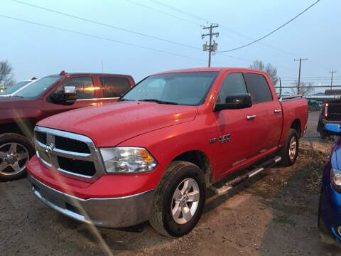 2014 RAM Ram Pickup 1500 for sale at Canuck Truck in Magrath AB