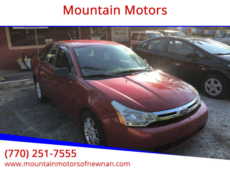 2009 Ford Focus for sale at Mountain Motors in Newnan GA