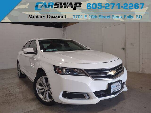2017 Chevrolet Impala for sale at CarSwap in Sioux Falls SD
