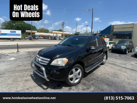 2008 Mercedes-Benz M-Class for sale at Hot Deals On Wheels in Tampa FL
