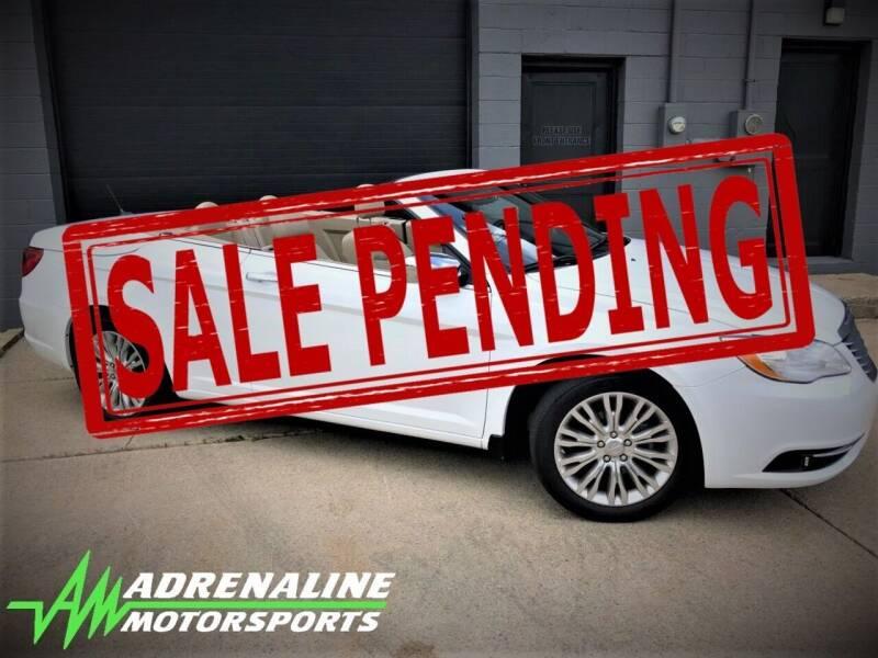 2014 Chrysler 200 Convertible for sale at Adrenaline Motorsports Inc. in Saginaw MI