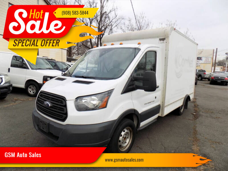 2016 Ford Transit Cutaway for sale at GSM Auto Sales in Linden NJ