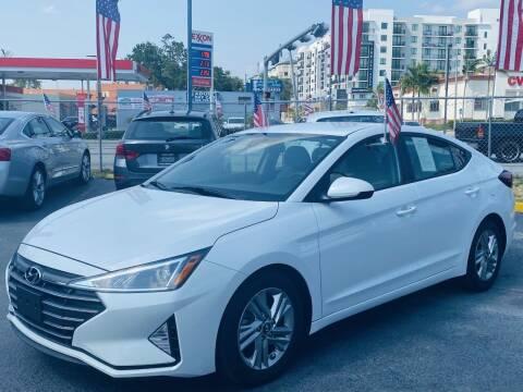 2019 Hyundai Elantra for sale at CHASE MOTOR in Miami FL