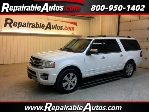 2015 Ford Expedition EL for sale at Ken's Auto in Strasburg ND