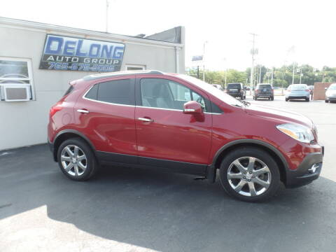 2014 Buick Encore for sale at DeLong Auto Group in Tipton IN