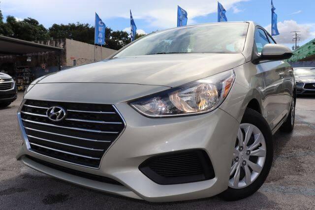 2020 Hyundai Accent for sale at OCEAN AUTO SALES in Miami FL