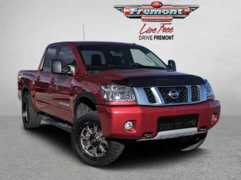 2014 Nissan Titan for sale at Rocky Mountain Commercial Trucks in Casper WY
