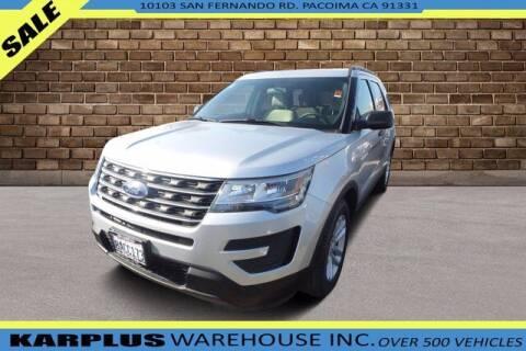 2017 Ford Explorer for sale at Karplus Warehouse in Pacoima CA