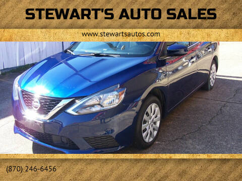 2018 Nissan Sentra for sale at Stewart's Auto Sales in Arkadelphia AR