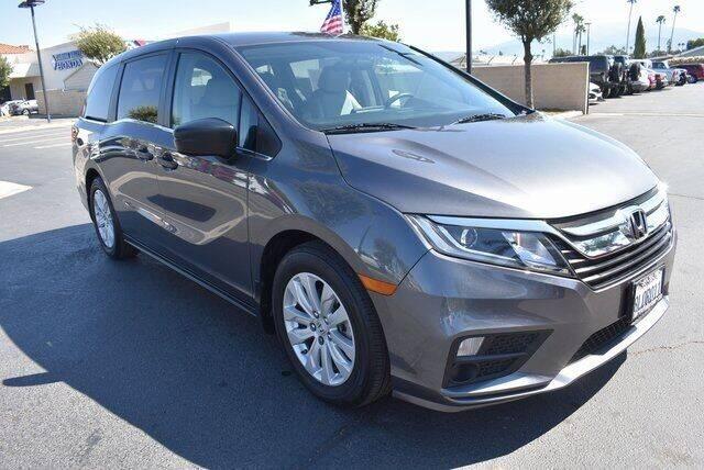 2019 Honda Odyssey for sale at DIAMOND VALLEY HONDA in Hemet CA