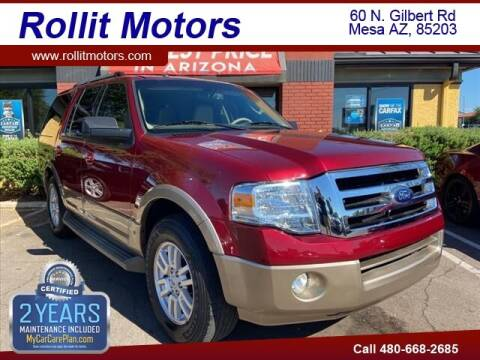 2013 Ford Expedition for sale at Rollit Motors in Mesa AZ