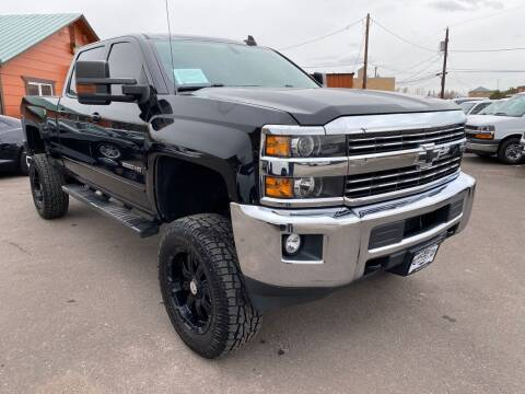 2015 Chevrolet Silverado 2500HD for sale at BERKENKOTTER MOTORS in Brighton CO