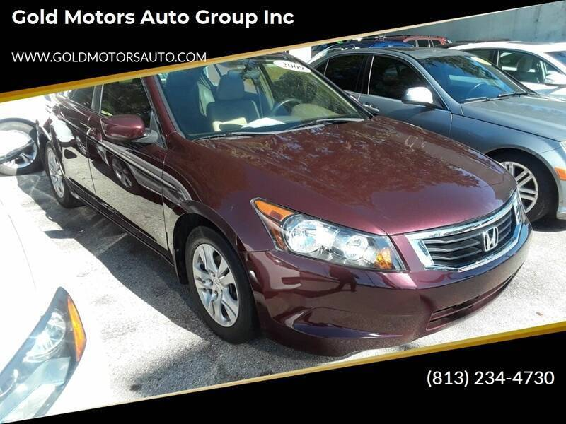 2009 Honda Accord for sale at Gold Motors Auto Group Inc in Tampa FL
