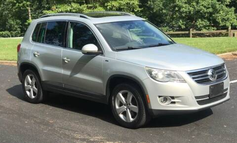 2010 Volkswagen Tiguan for sale at Bowie Motor Co in Bowie MD