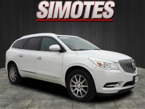 2016 Buick Enclave for sale at SIMOTES MOTORS in Minooka IL