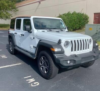 2020 Jeep Wrangler Unlimited for sale at Blum's Auto Mart in Port Orange FL