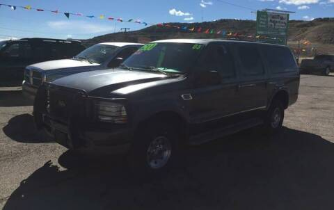 2003 Ford Excursion for sale at Hilltop Motors in Globe AZ