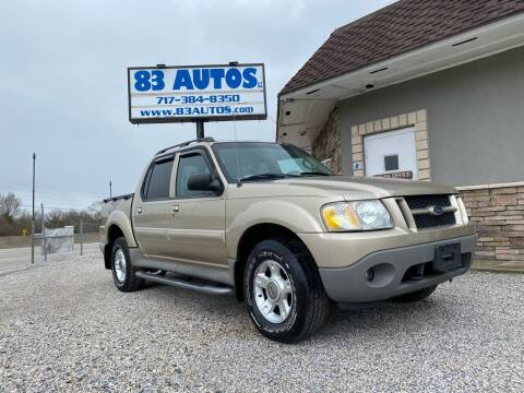 2003 Ford Explorer Sport Trac for sale at 83 Autos in York PA