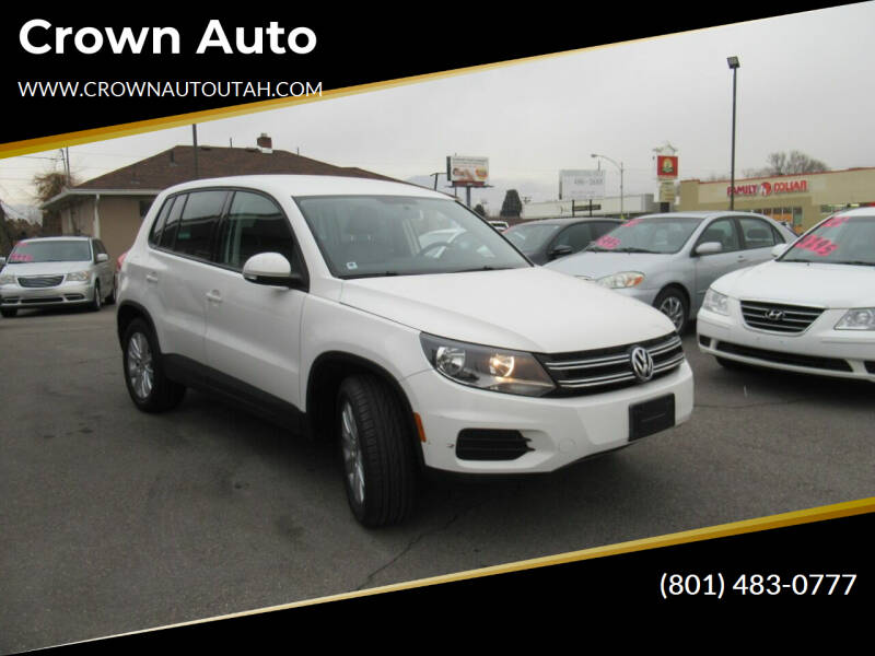 2012 Volkswagen Tiguan for sale at Crown Auto in South Salt Lake City UT