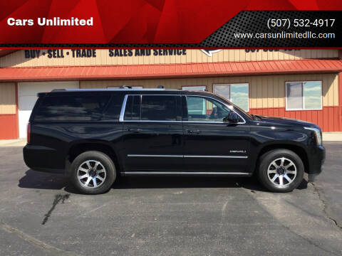 2015 GMC Yukon XL for sale at Cars Unlimited in Marshall MN