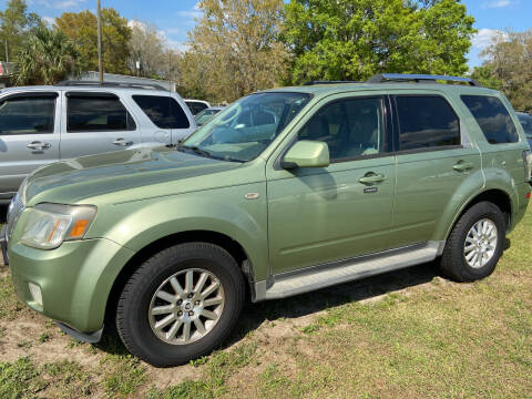 2009 Mercury Mariner for sale at Massey Auto Sales in Mulberry FL