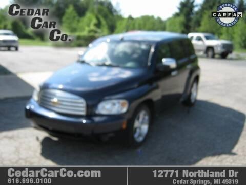 2007 Chevrolet HHR for sale at Cedar Car Co in Cedar Springs MI