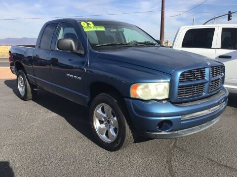 2003 Dodge Ram Pickup 1500 for sale at SPEND-LESS AUTO in Kingman AZ