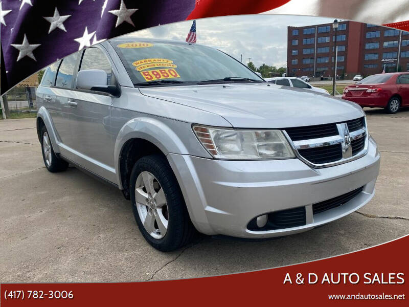 2010 Dodge Journey for sale at A & D Auto Sales in Joplin MO
