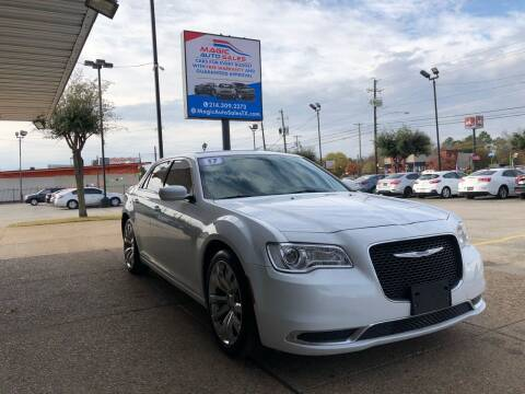 2017 Chrysler 300 for sale at Magic Auto Sales in Dallas TX