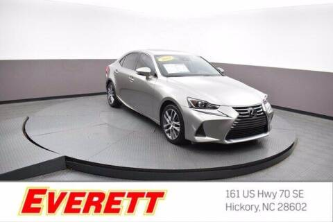 2018 Lexus IS 300 for sale at Everett Chevrolet Buick GMC in Hickory NC