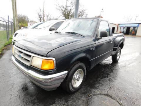 1997 Ford Ranger for sale at WOOD MOTOR COMPANY in Madison TN